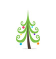 the symbol of the new year a beautiful colorful vector image vector image