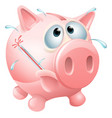 unhealthy finances concept vector image