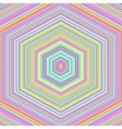 Abstract Colorful Hexagonal Background vector image