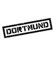 Dortmund rubber stamp vector image