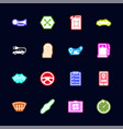 automobile - flat icons vector image vector image