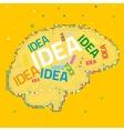 Creative Brain v vector image