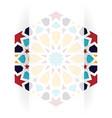 islamic greeting card vector image vector image
