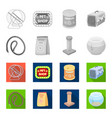 leash feed and other zoo store productspet shop vector image