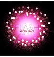Abstract Colorful Explosion Firework and Flash vector image vector image