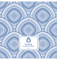 beautiful boho chic seamless pattern vector image vector image
