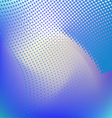 Blue abstract background dots vector image vector image