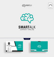 brain consult logo designs brain logo icon with vector image