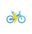 electric bicycle e-bike vector image