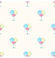 ice cream seamless pattern in modern flat vector image vector image