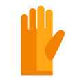 protective glove vector image vector image