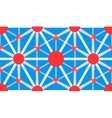 Molecule pattern vector image