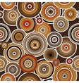 Aboriginal art seamless background vector image vector image