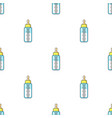 baby bottle icon in cartoon style isolated on vector image