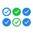check icon tick mark sign ok correct yes green vector image
