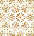 Classic Gear or Cogwheel Pattern on Pastel Color vector image vector image