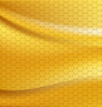Golden metallic seamless texture vector image vector image