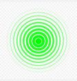 pain circle icon vector image vector image