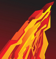 poster lightning vector image