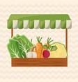 vegetables shop market image vector image
