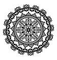 dreamcatcher mandala on white background vector image vector image