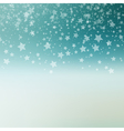 Falling Snow Background Abstract Snowflake Pattern vector image vector image