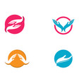 hand care logo template icon business vector image