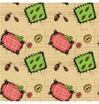 Patches Seamless background vector image