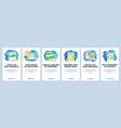 social media photo sharing app diary blog and vector image vector image