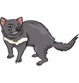 tasmanian devil cartoon vector image vector image