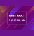 abstract background with colorful geometric shape vector image vector image