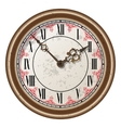 Ancient clock vector image