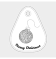 Ball - toys on christmas tree Christmas vector image