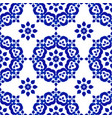decorative tile pattern vector image vector image