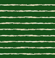 gold foil horizontal lines pattern green vector image vector image