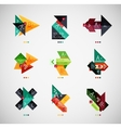 infographic option banner design collection vector image vector image