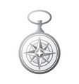 pocket watch windrose gradient vector image vector image