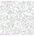 repeating dot pattern background vector image vector image