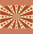 vintage circus posters paper vector image vector image