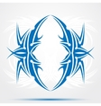 Blue celtic tattoo Tribal for tattoo saloons vector image vector image