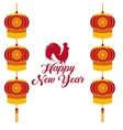 chinesse happy new year design vector image