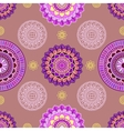 Seamless mandala pattern vector image vector image