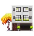 A modern house vector image vector image