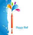 indian festival holi vector image