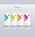 option banners vector image vector image