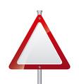 road signal design vector image vector image