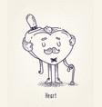 set cute characters cute cartoons vector image vector image