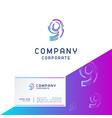 9 company logo design vector image vector image