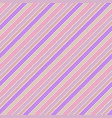 bacolor pink striped abstract seamless pattern vector image vector image