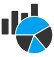 Charts Icon vector image vector image